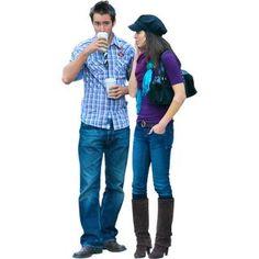 This Couple Loves Coffee | Immediate Entourage | Rendering: People ...
