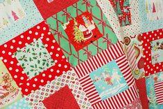 Christmas Economy Block Quilt - How I'm Making it and Fabrics | Everyday Celebrations | Bloglovin'