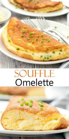 Breakfast Time, Best Breakfast, Breakfast Omelette, Best Omelette, Omelette Ideas, Healthy Omelette, Cheese Omelette, Savory Breakfast, Omelettes