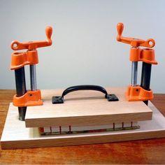 handmade(?) book press