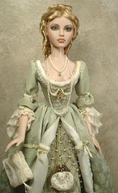 Gene doll Repaint. Very pretty