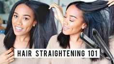 8 Tips for Straighter Hair   Flat Ironing Tips + Technique [Video] - http://community.blackhairinformation.com/video-gallery/natural-hair-videos/8-tips-straighter-hair-flat-ironing-tips-technique-video/