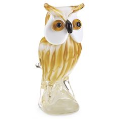 Art Glass Owl - Gifts, Clothing, Jewelry, Home Decor and Home Furnishings - Unique and Affordable Gifts   Potpourri Gift