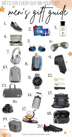 I love easy shopping guides like this, so many different gift options for all kinds of men. #mensgift #mensguides #giftsforboyfriend #giftsfordad #giftsforhim #giftsformen Mom Advice, Parenting Advice, Top Gifts, Gifts For Dad, Young Love, Lifestyle Group, Mom Hacks, Raising Kids, Mom Style