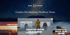 NRGVideo - Movie Film Marketing WordPress Theme