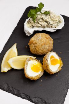 A sublime mackerel Scotch egg recipe makes a great pescatarian alternative to the classic pork snack.