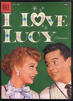 """1958 """"I Love Lucy"""" Comic Book by Lucy_Fan, via Flickr"""