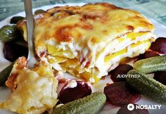 Shrimp Recipes Easy, Healthy Recipes, Birthday Brunch, Potato Dishes, Lasagna, Main Dishes, Easy Meals, Food And Drink, Healthy Eating
