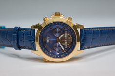 Maison de ventes aux enchères en ligne Catawiki  Calvaneo Astonia Diamond  Blue Gold - Montre 15e696ec32d