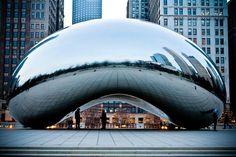 """The Bean"" Chicago (anish kapoor)"