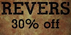 Revers (30% discount, from 13,29€) - http://fontsdiscounts.com/revers-30-off/