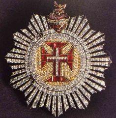 Insígnia de cavaleiro da Ordem de Avis, finais do século XVIII