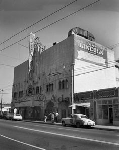 """The Lincoln Theater on Central Avenue became known as the """"West Coast Apollo.""""(CSUN digital collection) Jelly Roll Morton, Pullman Car, First Class Hotel, Hattie Mcdaniel, East Los Angeles, Thelonious Monk, Kareem Abdul Jabbar, Duke Ellington, Jazz Club"""