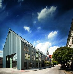 Urban Modern Building with Tradition Massing