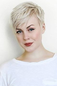 Today we have the most stylish 86 Cute Short Pixie Haircuts. We claim that you have never seen such elegant and eye-catching short hairstyles before. Pixie haircut, of course, offers a lot of options for the hair of the ladies'… Continue Reading → Blonde Pixie Haircut, Short Pixie Haircuts, Pixie Hairstyles, Short Hair Cuts, Cool Hairstyles, Blonde Pixie Cuts, Hairstyle Ideas, Short Wavy Pixie, Asymmetrical Pixie