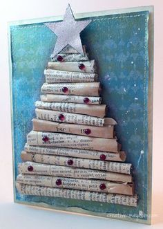 French Dictionary Christmas Cards