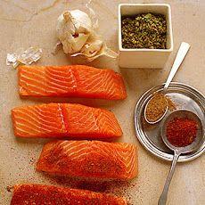 Salmon dry rub recipes