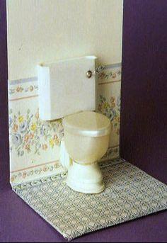 How to: Miniature toilet.