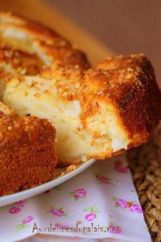 Gâteau moelleux aux poires et amandes