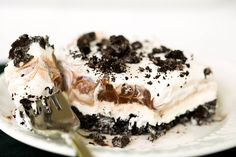 No-Bake Oreo Layer Dessert.  http://www.browneyedbaker.com/2013/06/24/no-bake-oreo-layer-dessert/?utm_source=feedburner_medium=email_campaign=Feed%3A+browneyedbaker%2Ffeed+%28Brown+Eyed+Baker+%29