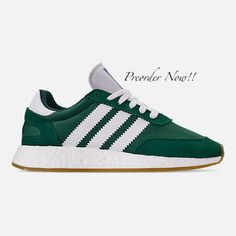 separation shoes 5a827 5ca75 Swarovski Womens Adidas Iniki I-5923 Green Sneakers Blinged Out With  Authentic Clear Swarovski Crystals Custom Bling Adidas Shoes