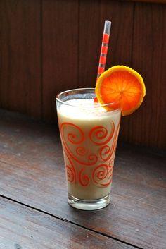 Dairy-free breakfast shake, tastes like an Orange Julius...but better!