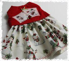 Feliz Navidad perro vestido XXS XS S... Ropa por SophiesPetCloset