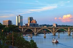 Knoxville - Spend A Perfect Day On This Old-Fashioned Paddle Boat Cruise In Tennessee Tennessee River, Nashville Tennessee, The Places Youll Go, Places To Visit, Appalachian Mountains, Great Smoky Mountains, Weekend Trips, Places To Travel, North Carolina