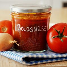 Bolognese im Pressure Canner Easy Bolognese Sauce Recipe, Best Bolognese Sauce, Bolonese Sauce, Beste Bolognese, Italian Meat Sauce, Vegetable Drinks, Conservation, Healthy Eating Tips, Sauce Recipes