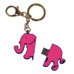 The Paper Store Lilly Pulitzer® Tusk in Sun Elephant USB Flash Drive (4GB) #thepaperstore #lillypulitzer