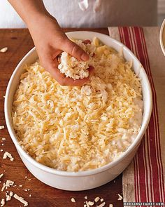 Martha Stewart's Perfect Macaroni and Cheese-I like that she shares how mac n cheese came about...it's been my birthday meal since I was little :o)