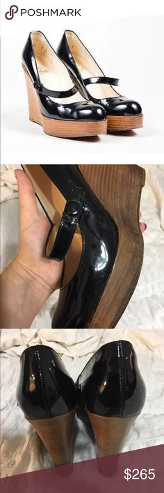 Christian Louboutin Wedges Stylish & comfortable ¥AUTHENTIC¥ Christian Louboutin Shoes Wedges