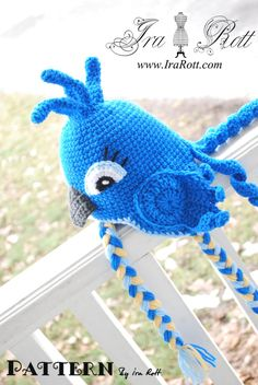 Crochet Animal Hats & Patterns by IraRott Inc. very nice link to this with lots if patterns of different kinds.