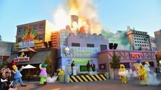 Simpsons Taste of Springfield Universal Studios Hollywood
