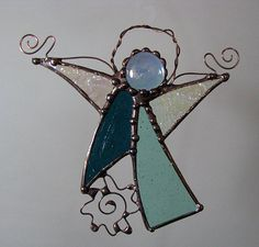 wire angel wings for stain glass angels - Google Search