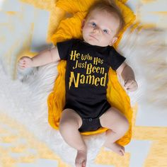 Harry Potter Fan Onesie This onesie is the perfect gift idea for any Harry Potter obsessed family :) Available in black and red! www.babypotter.com