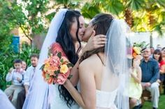 Shared by Yasmin Marques. Find images and videos about lesbian, lgbt and wedding on We Heart It - the app to get lost in what you love.