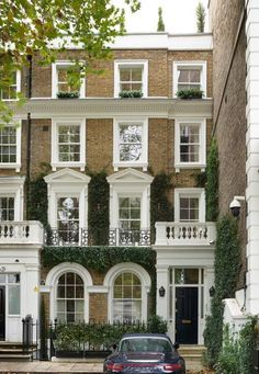 Georgian Townhouse, London Townhouse, Georgian Homes, London Mansion, London House, Townhouse Exterior, Country Modern Home, English House, Classic House
