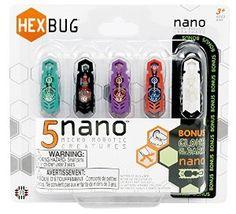 HEXBUG Nano, 5-Pack colors may vary