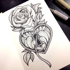 rose tattoo - Google Search More