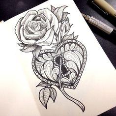 rose tattoo - Google Search