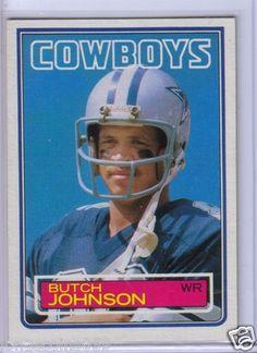 1983 Topps Butch Johnson.