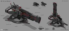 ArtStation - Guns for Star Conflict, Denis Melnychenko
