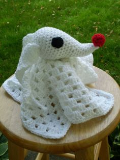 2014 Handmade Halloween Nightmare Before Christmas Crochet - Zero Lovey