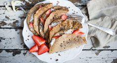 Pancakes with Strawberries and Coconut Cream (scheduled via http://www.tailwindapp.com?utm_source=pinterest&utm_medium=twpin&utm_content=post1195291&utm_campaign=scheduler_attribution)