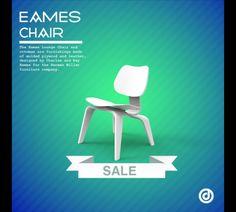 Eames Chair render