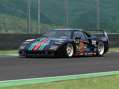 A taste of Racing Sports Car Racing, Sport Cars, Race Cars, Motor Sport, Auto Racing, Ferrari F40, Le Mans, Automobile, Martini Racing