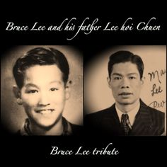 Bruce looked very much like his father