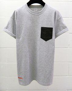 Men's Mini Arrows Pattern Grey Pocket TShirt by HeartLabelTees, £9.95