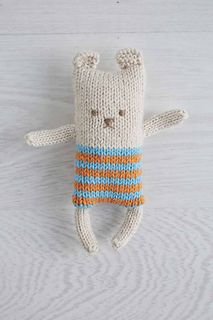 Ravelry: #45 Stuffed Teddy pattern by Australian Country Spinners